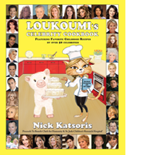 Loukoumi's Celebrity Cookbook